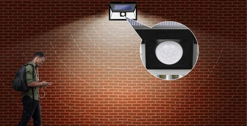 →→【割引クーポン】「約2300円!【2個セット】最新センサーライト 48LED 太陽光・屋外・人感センサー」など